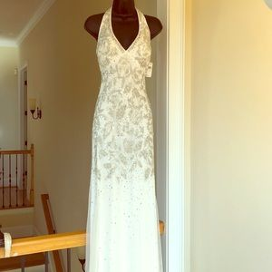 ADRIANNA PAPELL sz 4 gown formal prom wedding